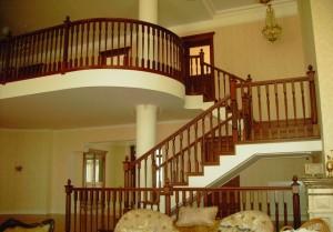 Деревянные лестницы 1