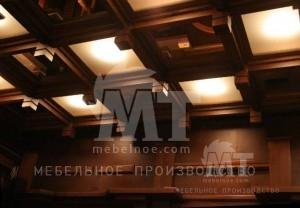 деревянные потолки 2