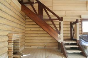 Лестница на мансарду 1