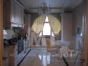 Современный классический кухонный гарнитур 1